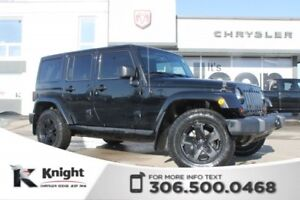 2012 Jeep Wrangler Unlimited Sahara - Remote Start - Heated Leat