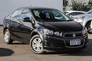 2013 Holden Barina TM MY13 CD Black 5 Speed Manual Sedan Maddington Gosnells Area Preview
