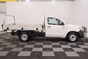 2013 Toyota Hilux TGN16R MY12 Workmate White 4 Speed Automatic Cab Chassis Edgewater Joondalup Area Preview