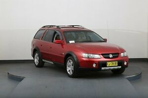 2004 Holden Adventra VY II LX8 Red 4 Speed Automatic Wagon Smithfield Parramatta Area Preview