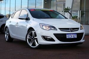 2012 Opel Astra AS Sport White 6 Speed Sports Automatic Hatchback Wangara Wanneroo Area Preview