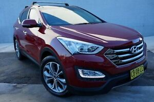 2014 Hyundai Santa Fe DM MY14 Highlander Red 6 Speed Sports Automatic Wagon Pearce Woden Valley Preview