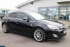VAUXHALL ASTRA 1.4 SRI 5d 138 BHP - 360 SPIN ON WEBSITE (black) 2010