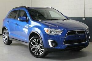 2015 Mitsubishi ASX XB MY15 LS 2WD Blue 6 Speed Constant Variable Wagon Hillcrest Port Adelaide Area Preview