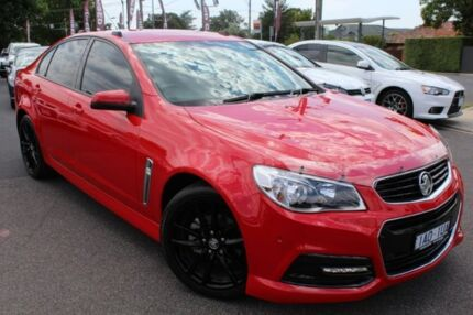 2014 Holden Commodore Red Manual Sedan Heidelberg Heights Banyule Area Preview