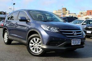 2014 Honda CR-V RM MY15 VTi Navi Blue 5 Speed Automatic Wagon Northbridge Perth City Area Preview