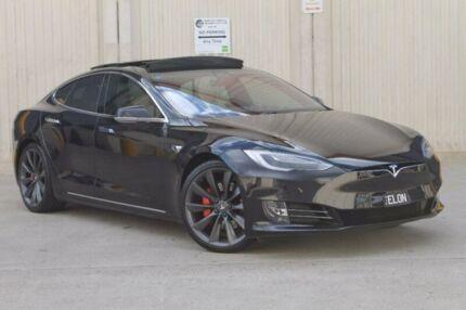 2017 Tesla Model S P100D Sportback Sedan AWD Black 1 Speed Reduction Gear Hatchback