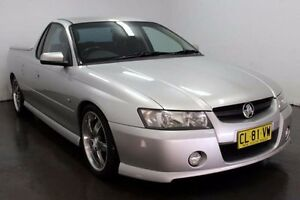 2006 Holden Ute VZ SV6 Silver Automatic Utility Cabramatta Fairfield Area Preview