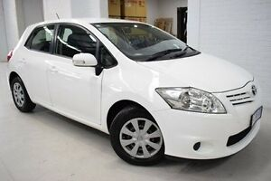 2010 Toyota Corolla ZRE152R MY10 Ascent White 6 Speed Manual Hatchback West Launceston Launceston Area Preview