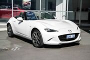 2016 Mazda MX-5 ND GT SKYACTIV-Drive Crystal White 6 Speed Sports Automatic Roadster Osborne Park Stirling Area Preview