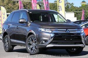 2016 Mitsubishi Outlander ZK MY16 XLS 2WD Brown 6 Speed Constant Variable Wagon Wilson Canning Area Preview