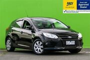 2012 Ford Focus LW Ambiente Black 6 Speed Sports Automatic Dual Clutch Hatchback Ringwood East Maroondah Area Preview