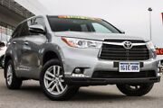2015 Toyota Kluger GSU50R GX 2WD Silver 6 Speed Sports Automatic Wagon Cannington Canning Area Preview