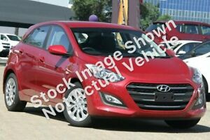 2017 Hyundai i30 GD4 Series II MY17 Active Fiery Red 6 Speed Sports Automatic Hatchback Mackay Mackay City Preview