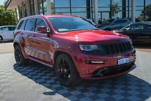 2014 Jeep Grand Cherokee WK MY2014 SRT Red 8 Speed Sports Automatic Wagon Alfred Cove Melville Area Preview