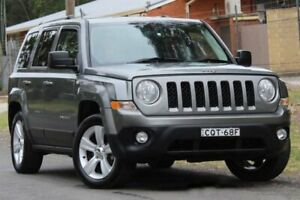 2013 Jeep Patriot MK MY2013 Limited CVT Auto Stick Grey 6 Speed Constant Variable Wagon Lansvale Liverpool Area Preview