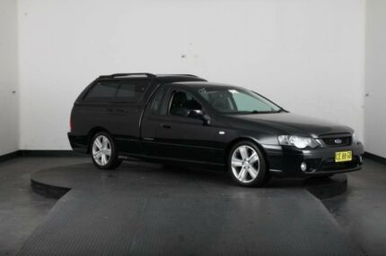 2006 Ford Falcon BF XR6T Black 6 Speed Auto Seq Sportshift Utility Greenacre Bankstown Area Preview