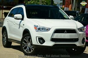 2016 Mitsubishi ASX XB MY15.5 XLS (2WD) White 6 Speed Continuous Variable Wagon Wolli Creek Rockdale Area Preview