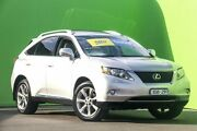 2009 Lexus RX350 GGL15R Sports Luxury Silver 6 Speed Sports Automatic Wagon Ringwood East Maroondah Area Preview