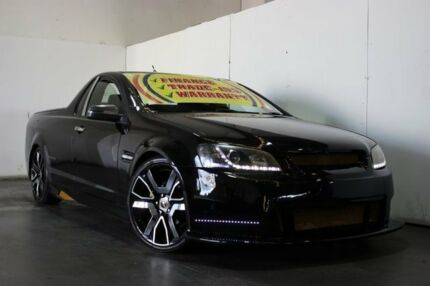 2009 Holden Commodore VE MY09.5 Omega Black 6 Speed Manual Utility