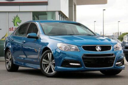 2014 Holden Commodore VF MY14 SV6 Perfect Blue 6 Speed Sports Automatic Sedan