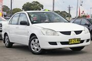 2003 Mitsubishi Lancer CG ES White 4 Speed Automatic Sedan Gymea Sutherland Area Preview