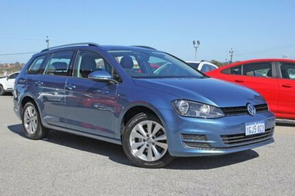 2015 Volkswagen Golf VII MY15 90TSI DSG Comfortline Blue 7 Speed Sports Automatic Dual Clutch Wagon