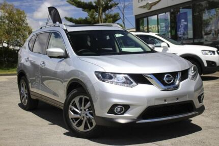 2016 Nissan X-Trail T32 Ti X-tronic 4WD Silver 7 Speed Constant Variable Wagon