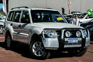 2012 Mitsubishi Pajero NW MY12 GLX White 5 Speed Sports Automatic Wagon Cannington Canning Area Preview