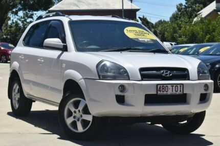 2008 Hyundai Tucson JM MY07 City SX White 4 Speed Sports Automatic Wagon Toowoomba Toowoomba City Preview