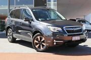 2018 Subaru Forester S4 MY18 2.5i-L CVT AWD Luxury Dark Grey 6 Speed Constant Variable Wagon Wangara Wanneroo Area Preview