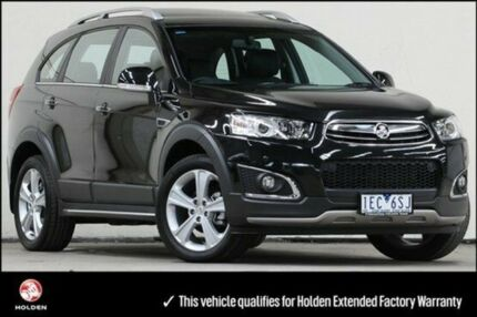 2014 Holden Captiva CG MY14 Carbon Flash Black 6 Speed Auto Seq Sportshift Wagon Vermont Whitehorse Area Preview