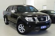 2012 Nissan Navara D40 S5 MY12 ST-X 550 Black 7 Speed Sports Automatic Utility Myaree Melville Area Preview