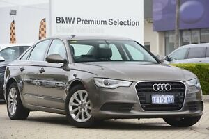 2012 Audi A6 4G MY13 Multitronic Grey 1 Speed Constant Variable Sedan Victoria Park Victoria Park Area Preview