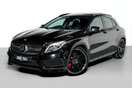 2014 Mercedes-Benz GLA 45 AMG 4MATIC X156 805+055MY AMG SPEEDSHIFT DCT 4MATIC Black 7 Speed Port Melbourne Port Phillip Preview