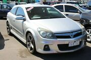 2006 Holden Astra AH MY07 SRi Silver 6 Speed Manual Coupe Heatherton Kingston Area Preview