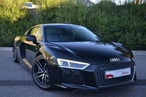2016 Audi R8 4S MY16 S tronic quattro Black 7 Speed Sports Automatic Dual Clutch Coupe Burwood Whitehorse Area Preview