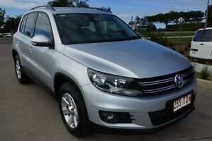 2013 Volkswagen Tiguan 5N MY13.5 Silver 7 Speed Sports Automatic Dual Clutch Wagon Noosaville Noosa Area Preview