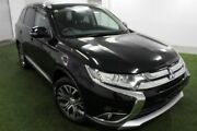 2015 Mitsubishi Outlander ZK MY16 LS 4WD Black 6 Speed Constant Variable Wagon Moonah Glenorchy Area Preview