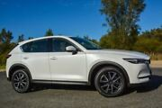 2017 Mazda CX-5 KF4W2A GT SKYACTIV-Drive i-ACTIV AWD White 6 Speed Sports Automatic Wagon Wilson Canning Area Preview