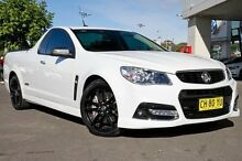 2013 Holden Ute VF MY14 SS V Ute Redline White 6 Speed Manual Utility Gymea Sutherland Area Preview