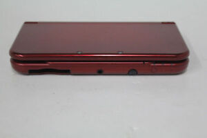 *****NEW NINTENDO 3DS XL ROUGE DANS LA BOITE / RED NEW NINTENDO 3DS XL IN THE BOX*****