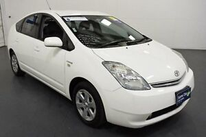 2009 Toyota Prius NHW20R MY06 Upgrade Hybrid White Continuous Variable Hatchback Moorabbin Kingston Area Preview