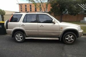 2001 Honda CR-V (4x4) Sport Gold 4 Speed Automatic 4x4 Wagon Melbourne CBD Melbourne City Preview