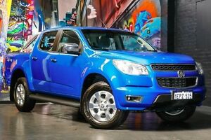 2014 Holden Colorado RG MY14 LTZ Crew Cab Oceanic Blue 6 Speed Sports Automatic Utility Northbridge Perth City Area Preview