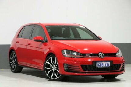 2016 Volkswagen Golf AU MY16 GTI Performance Red 6 Speed Direct Shift Hatchback Bentley Canning Area Preview