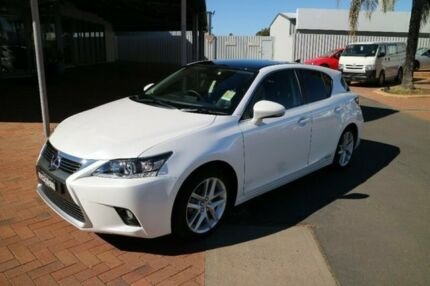 2017 Lexus CT200H ZWA10R MY16 Limited Edition White 1 Speed Constant Variable Hatchback Hybrid