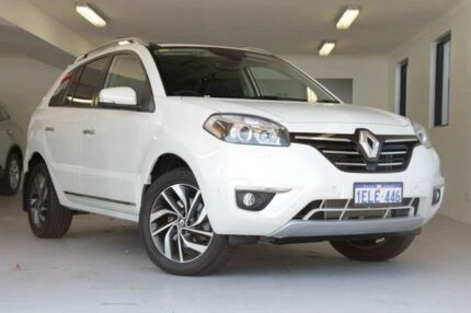 2013 Renault Koleos H45 Phase III Privilege White 1 Speed Constant Variable Wagon Willagee Melville Area Preview