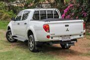 2014 Mitsubishi Triton MN MY15 GLX Double Cab 4x2 White 4 Speed Sports Automatic Utility Aspley Brisbane North East Preview