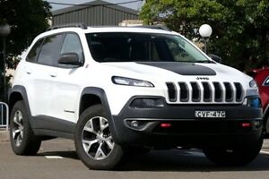 2014 Jeep Cherokee KL Trailhawk (4x4) White 9 Speed Automatic Wagon Dee Why Manly Area Preview
